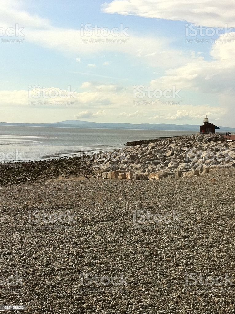 Morecambe Bay stock photo
