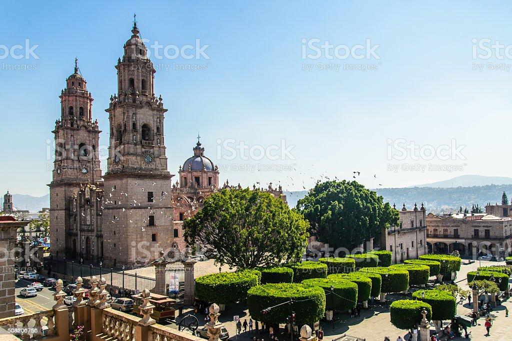 Morelia Michoacan, Mexico stock photo