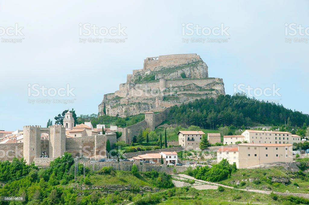 Morella - Spain stock photo
