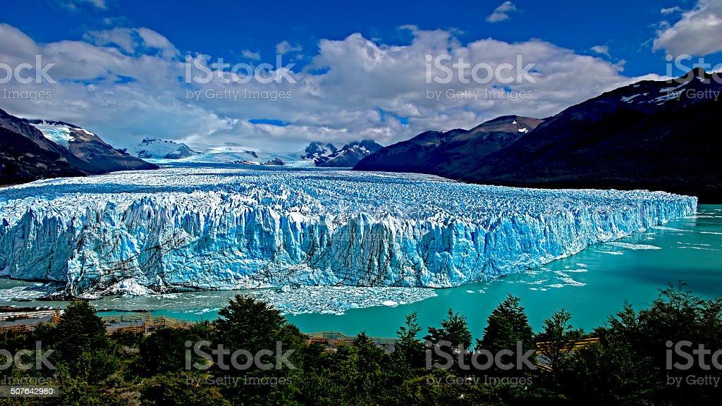 Moreno Glacier, Argentina stock photo