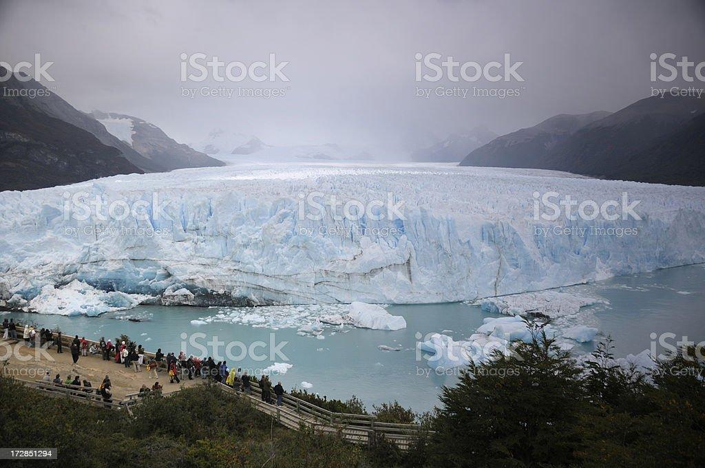 Moreno Glacier, Patagonia, Argentina royalty-free stock photo