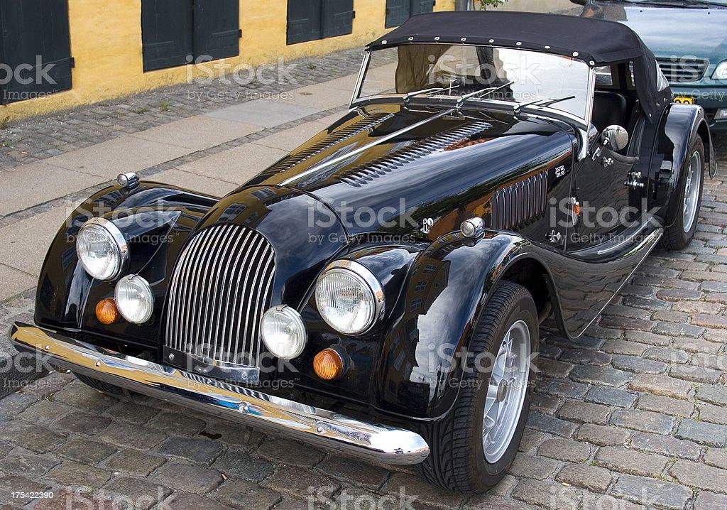 Morgan Roadster classic car royalty-free stock photo