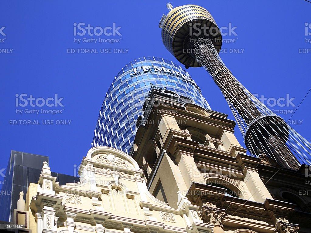 JP  Morgan sydney CBD stock photo
