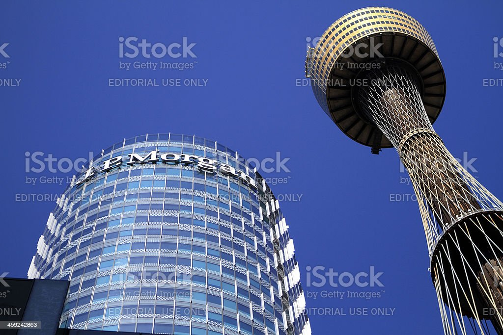 JP  Morgan sydney stock photo