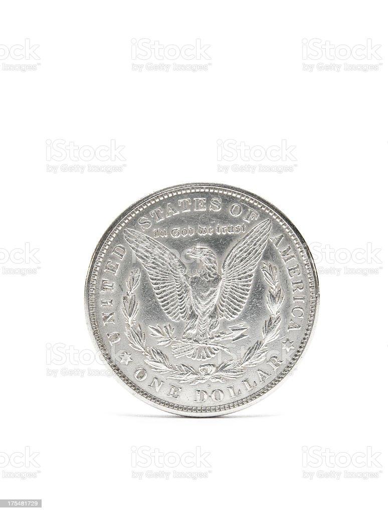 Morgan-Dollar stock photo