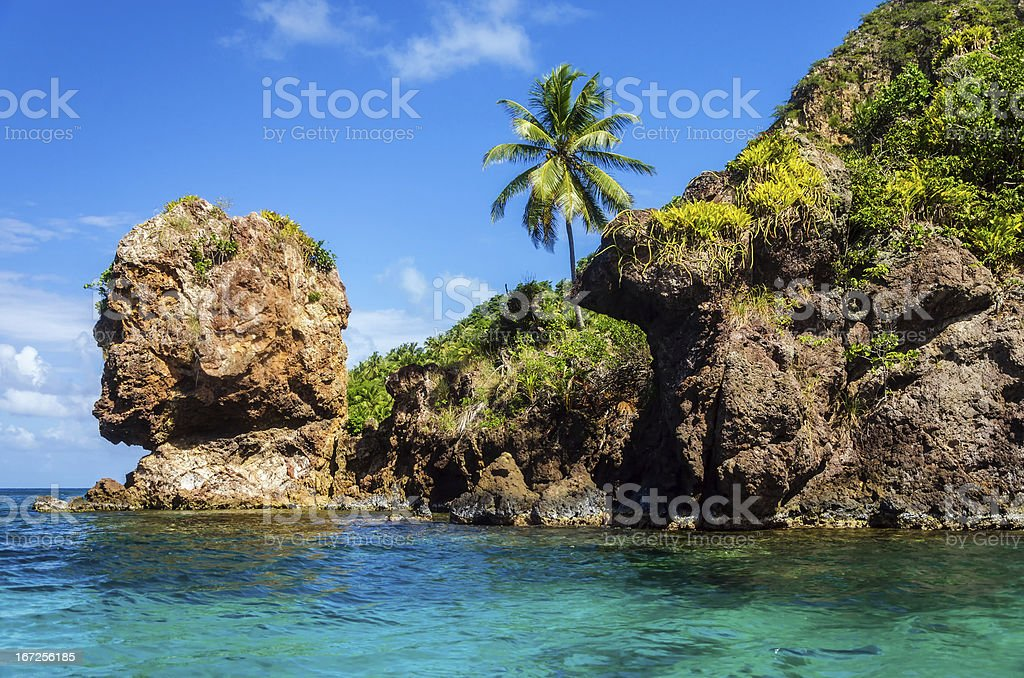 Morgan's Head Rock Formation stock photo