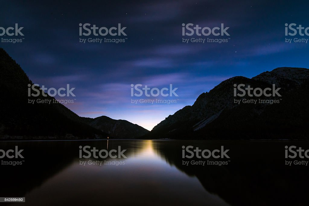Morgenhimmel stock photo