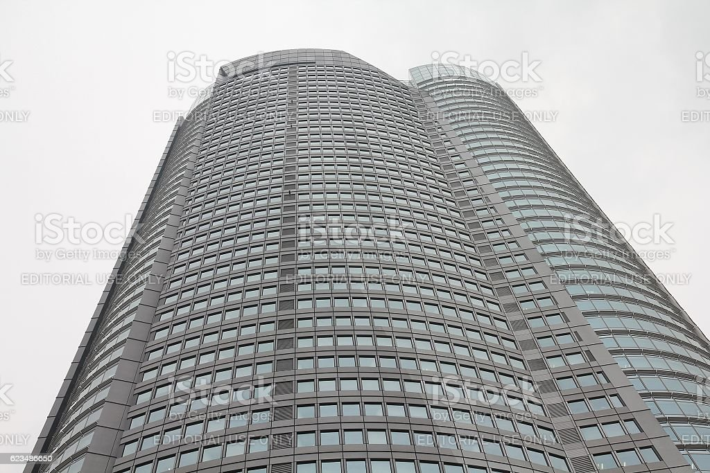 Mori Tower, Tokyo stock photo
