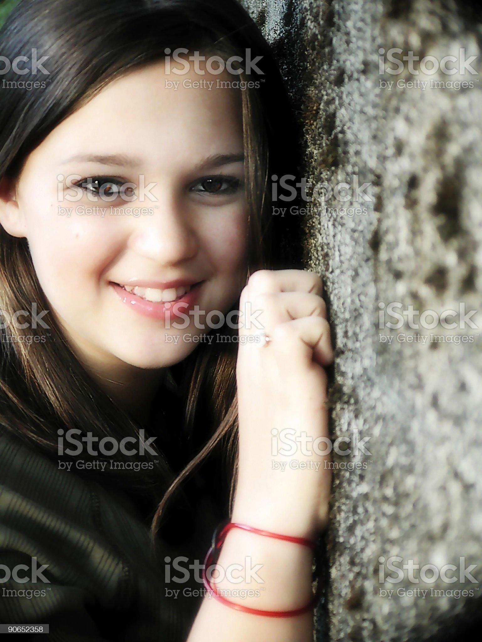 Moriah's Sweet Smile royalty-free stock photo