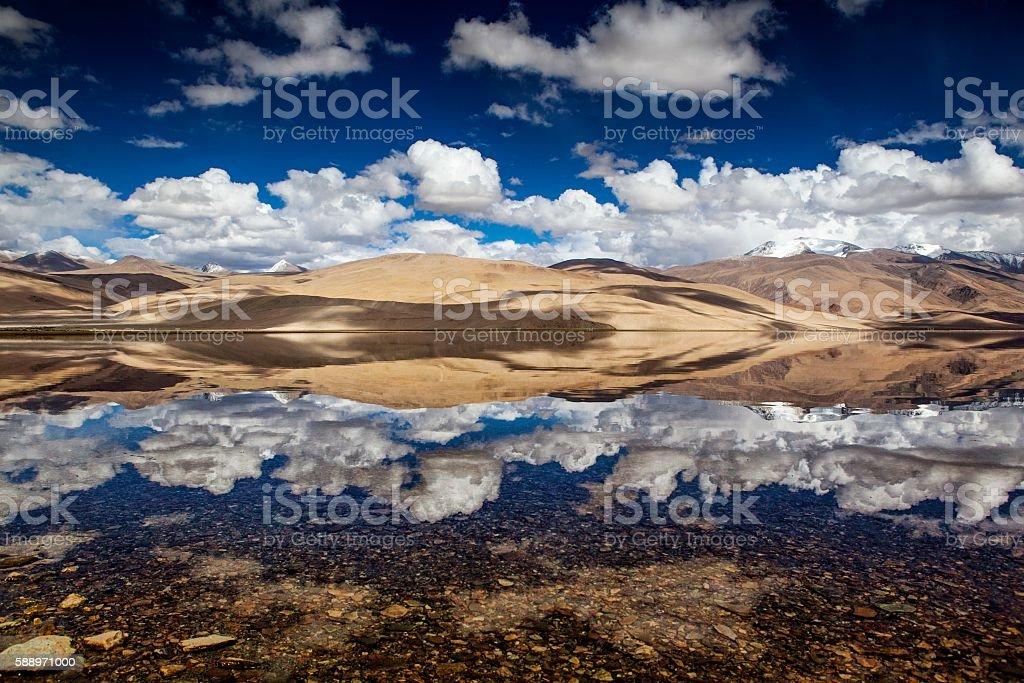 Moriri Lake, Ladakh, India stock photo