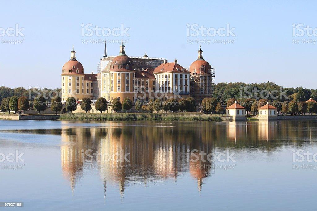 Moritzburg 6 stock photo