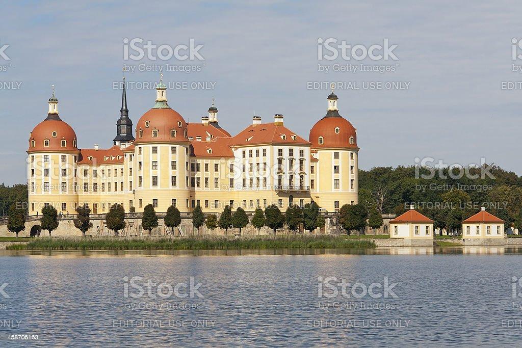Moritzburg Castle, Germany stock photo
