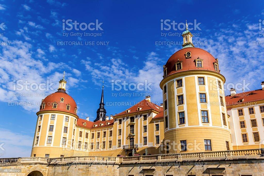 Moritzburg Castle near Dresden stock photo