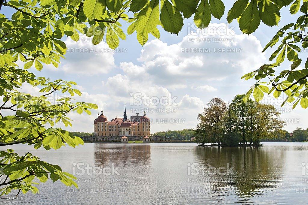 Moritzburg Castle (Germany) stock photo