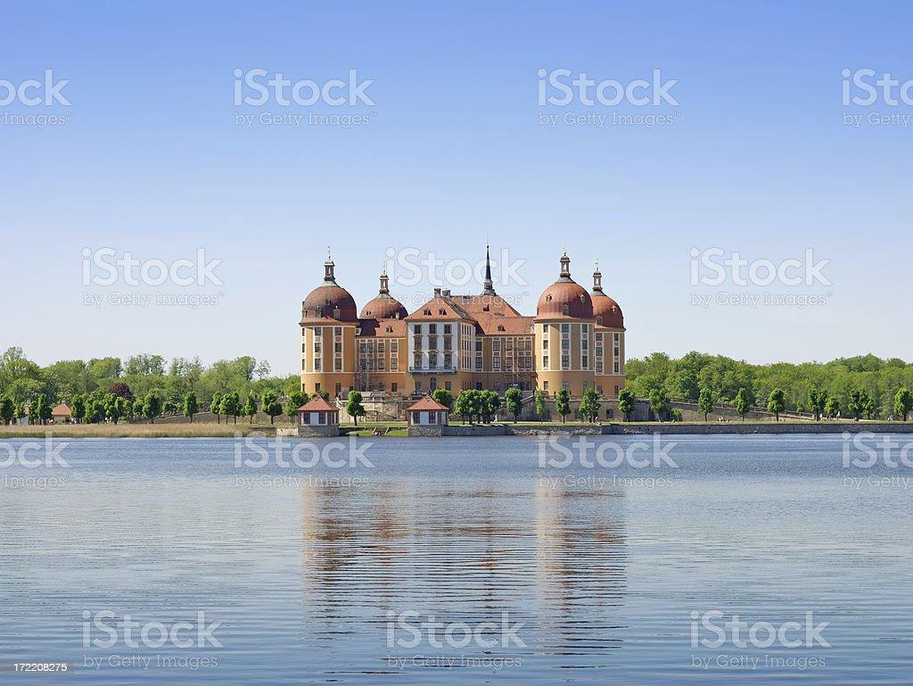 Moritzburg, Dresden stock photo