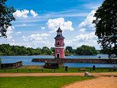 Moritzburg lighthouse