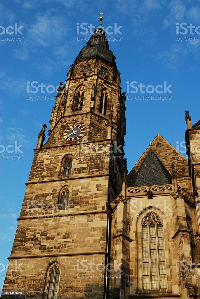 Moritzkirche Coburg stock photo