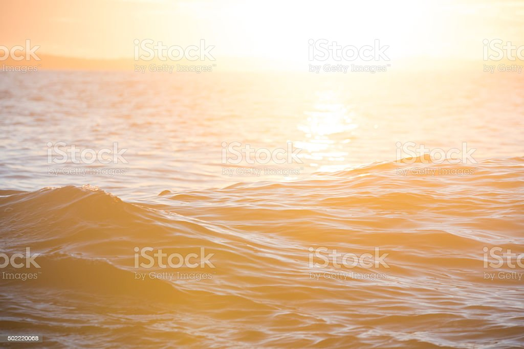 Morking Wake stock photo