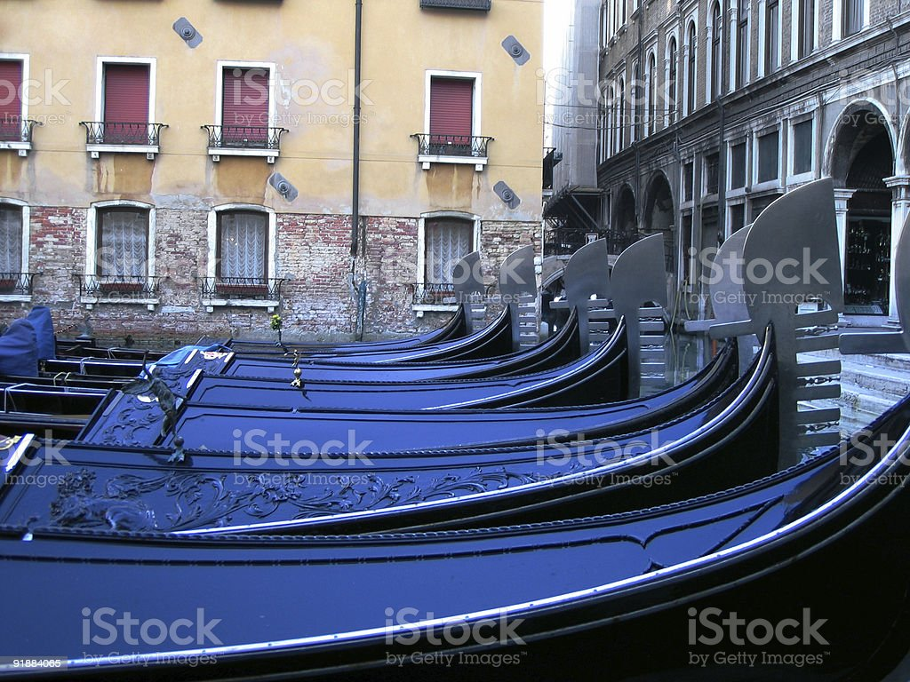 Morning air in Venice royalty-free stock photo