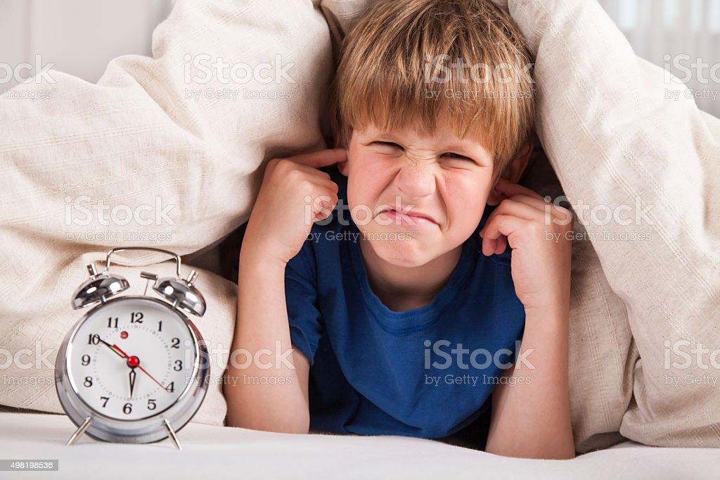 Morning alarm stock photo