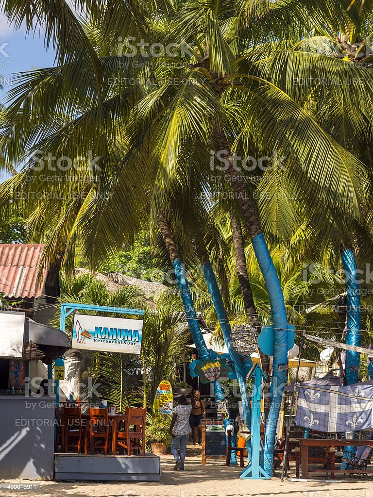 Morning at Cabarete, Dominican Republic royalty-free stock photo