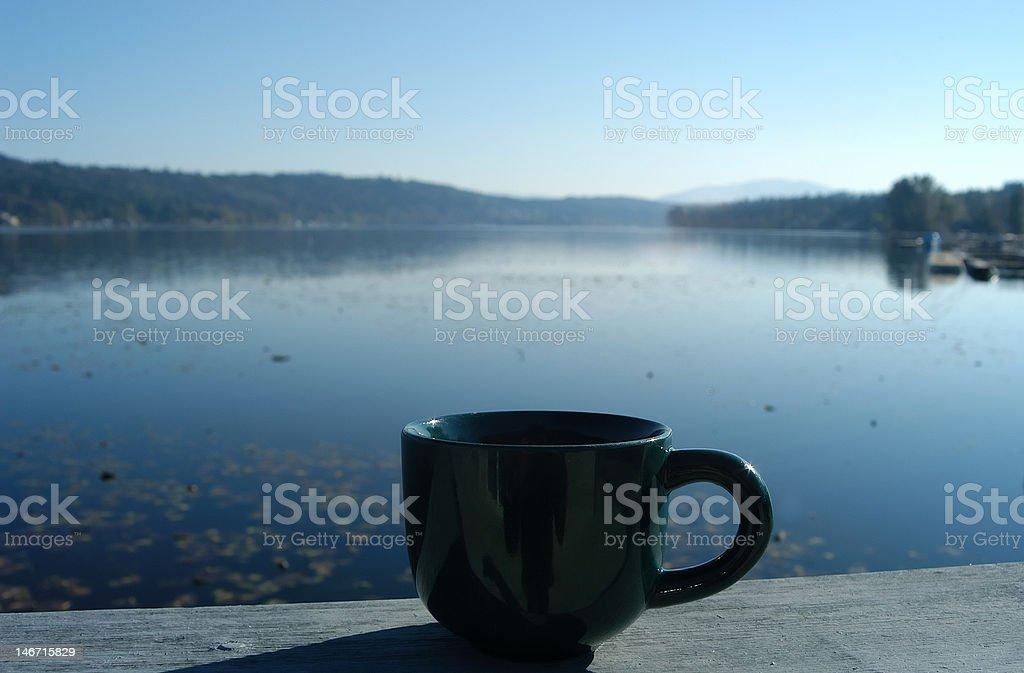 Morning at the Lake royalty-free stock photo