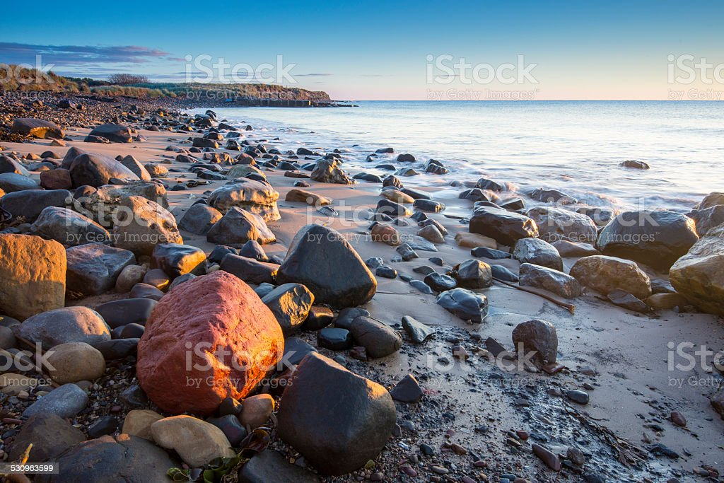 Morning at the seaside2 royalty-free stock photo