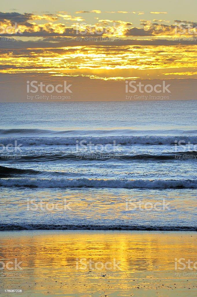 Morning Beach stock photo
