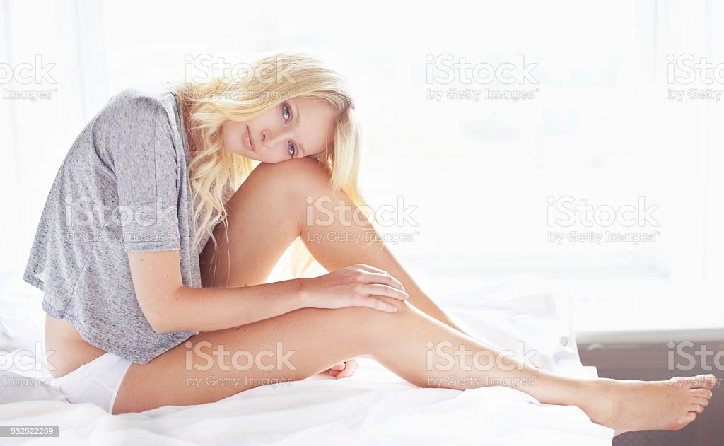 Morning beauty stock photo
