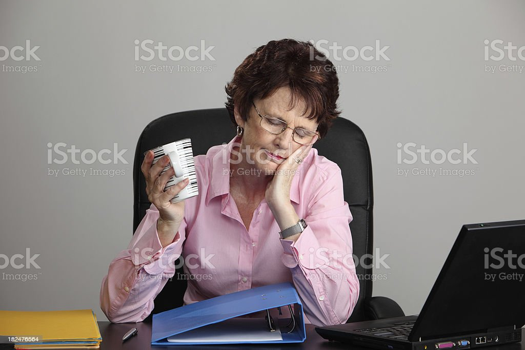 Morning Break royalty-free stock photo