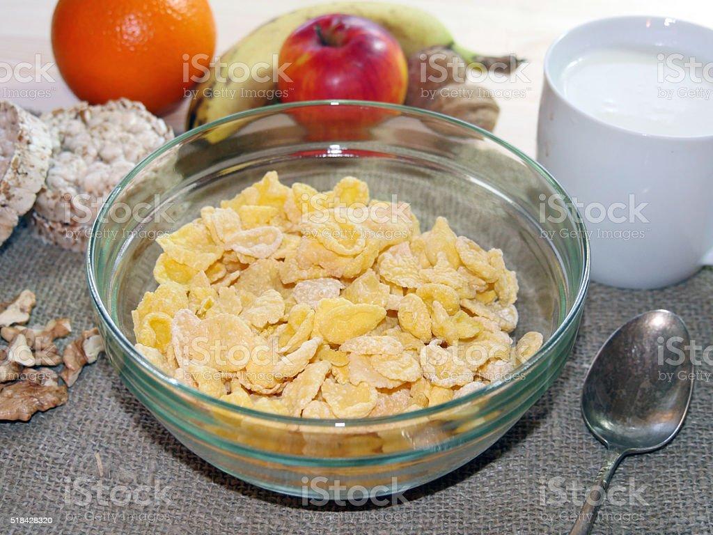 Desayuno a la mañana foto de stock libre de derechos