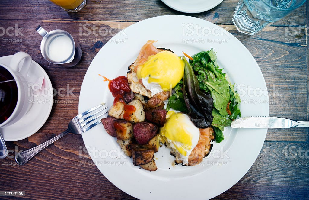Morning Brunch stock photo
