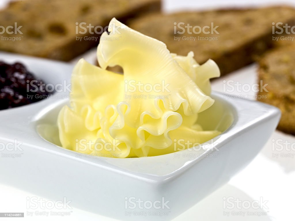 Morning Butter royalty-free stock photo