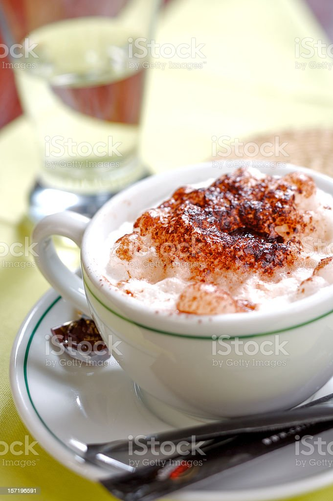 Morning Caffee royalty-free stock photo
