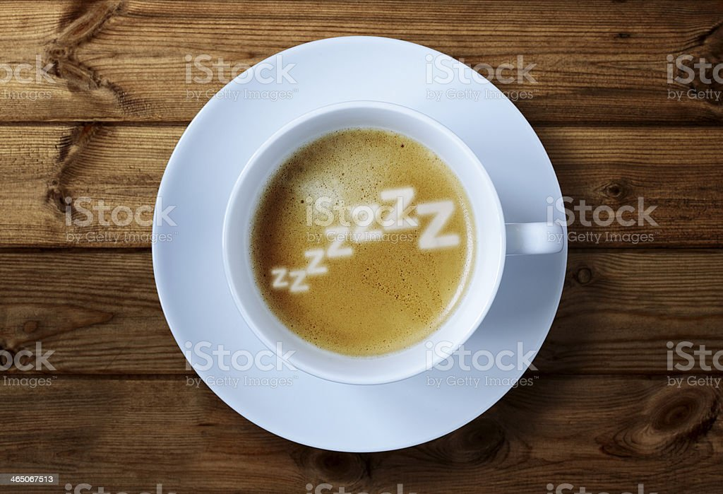 Morning caffeine stock photo