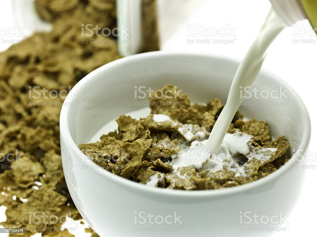 Morning cereal royalty-free stock photo