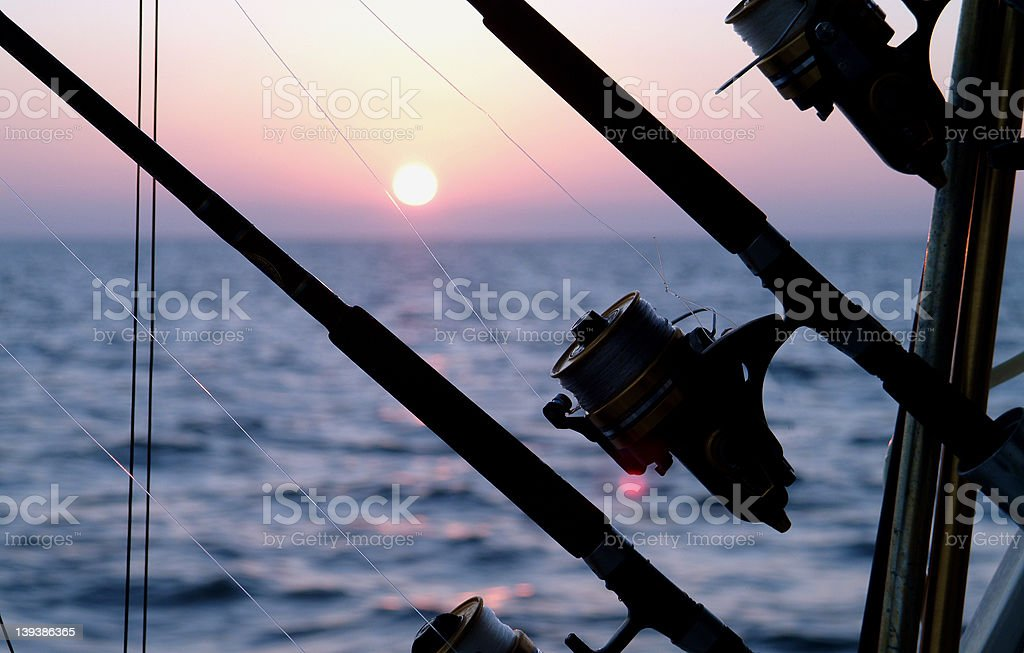 Morning Charter Trip royalty-free stock photo