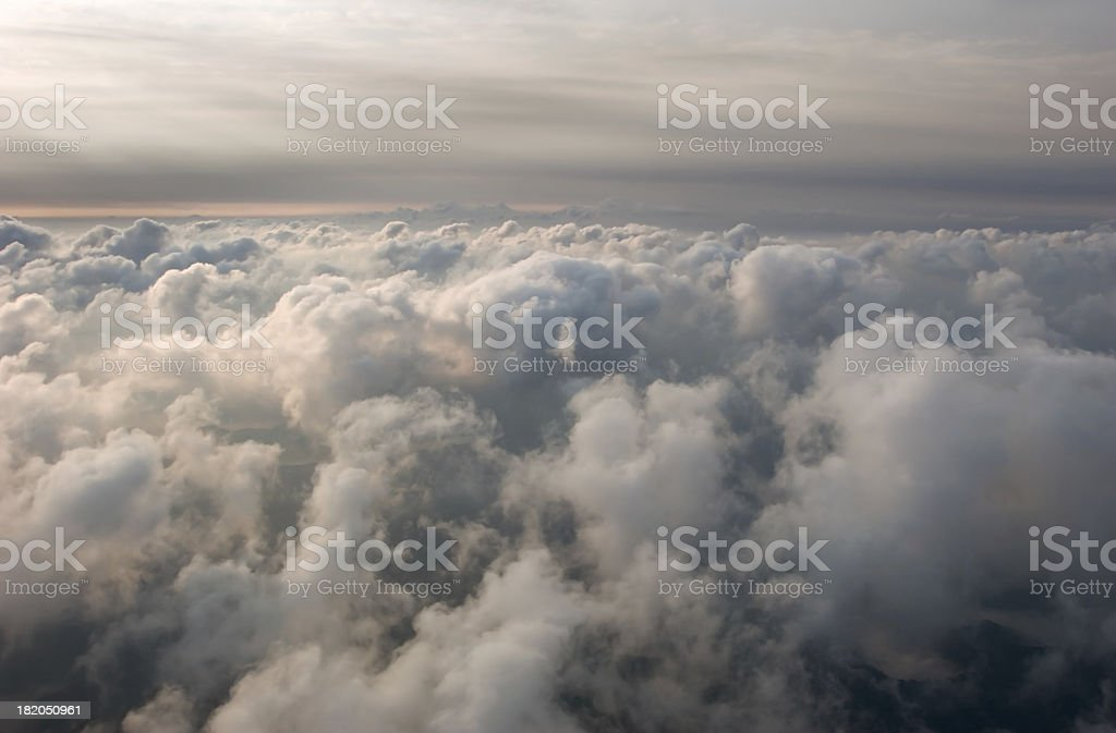 Morning Cloud Layers royalty-free stock photo