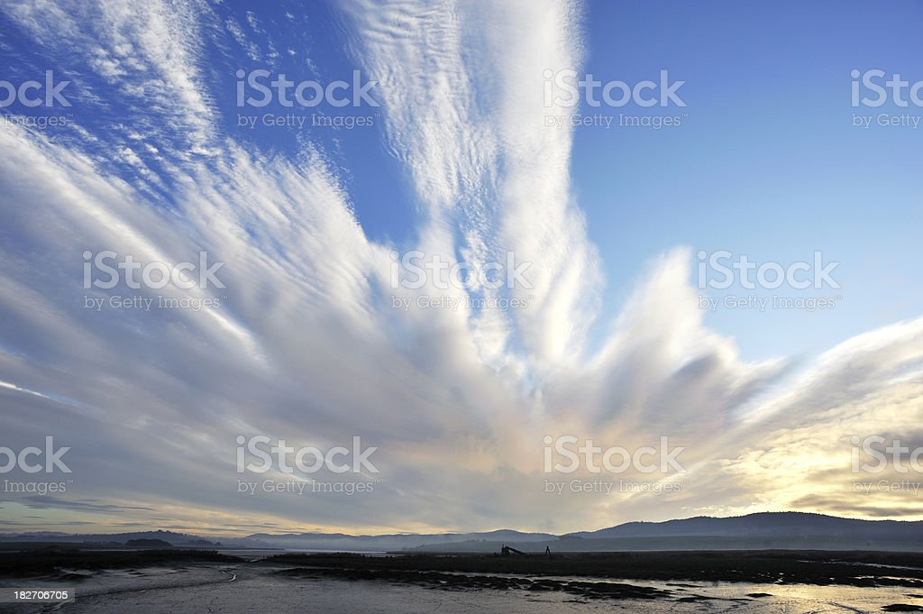 Morning Cloud royalty-free stock photo