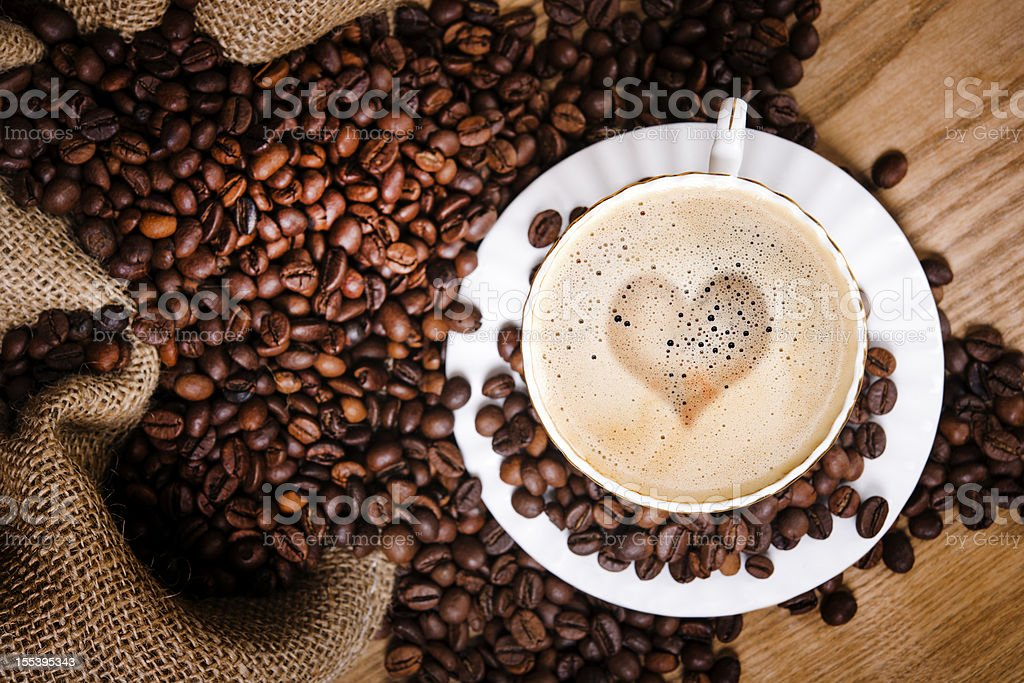 morning coffe stock photo
