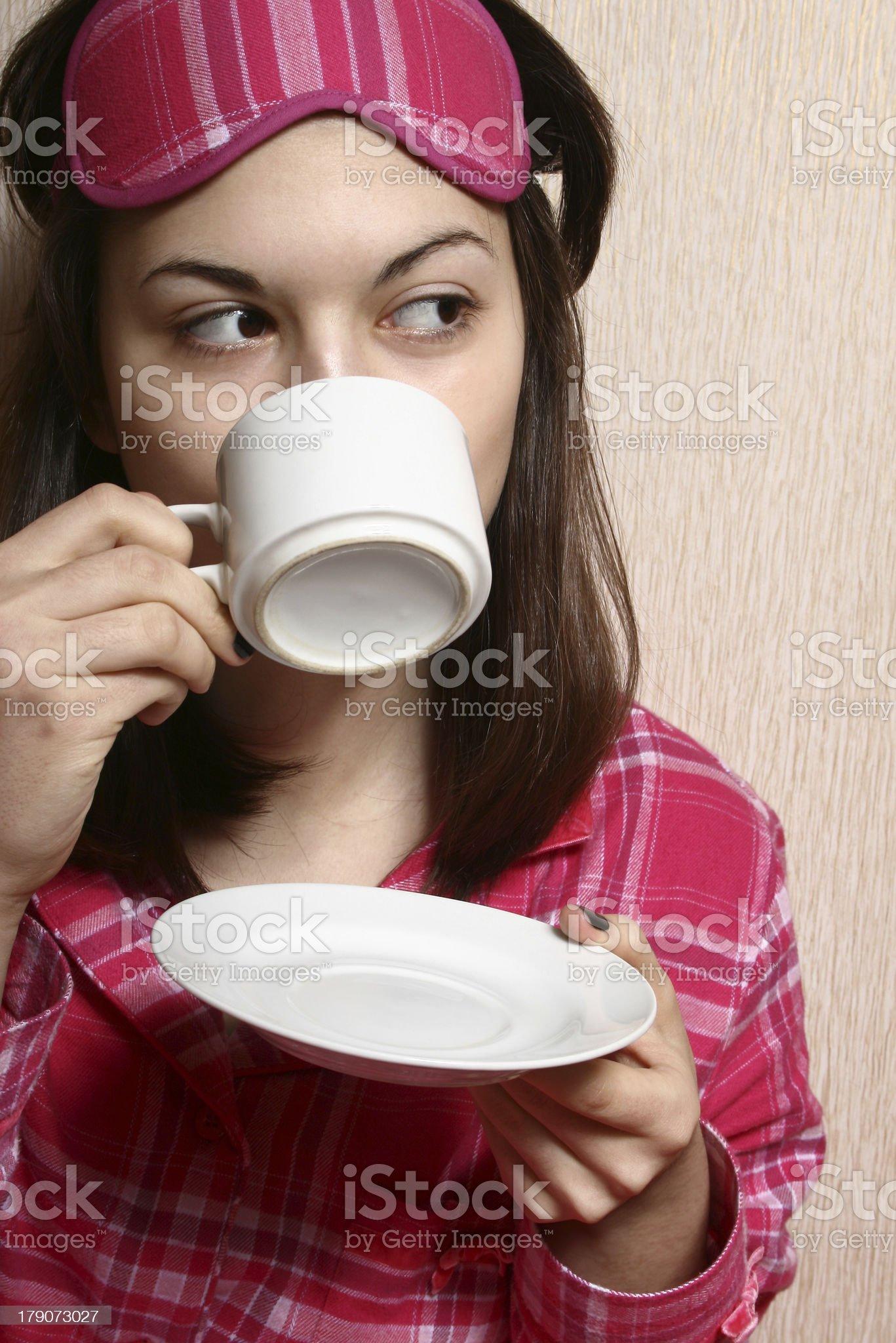 Morning coffee. royalty-free stock photo