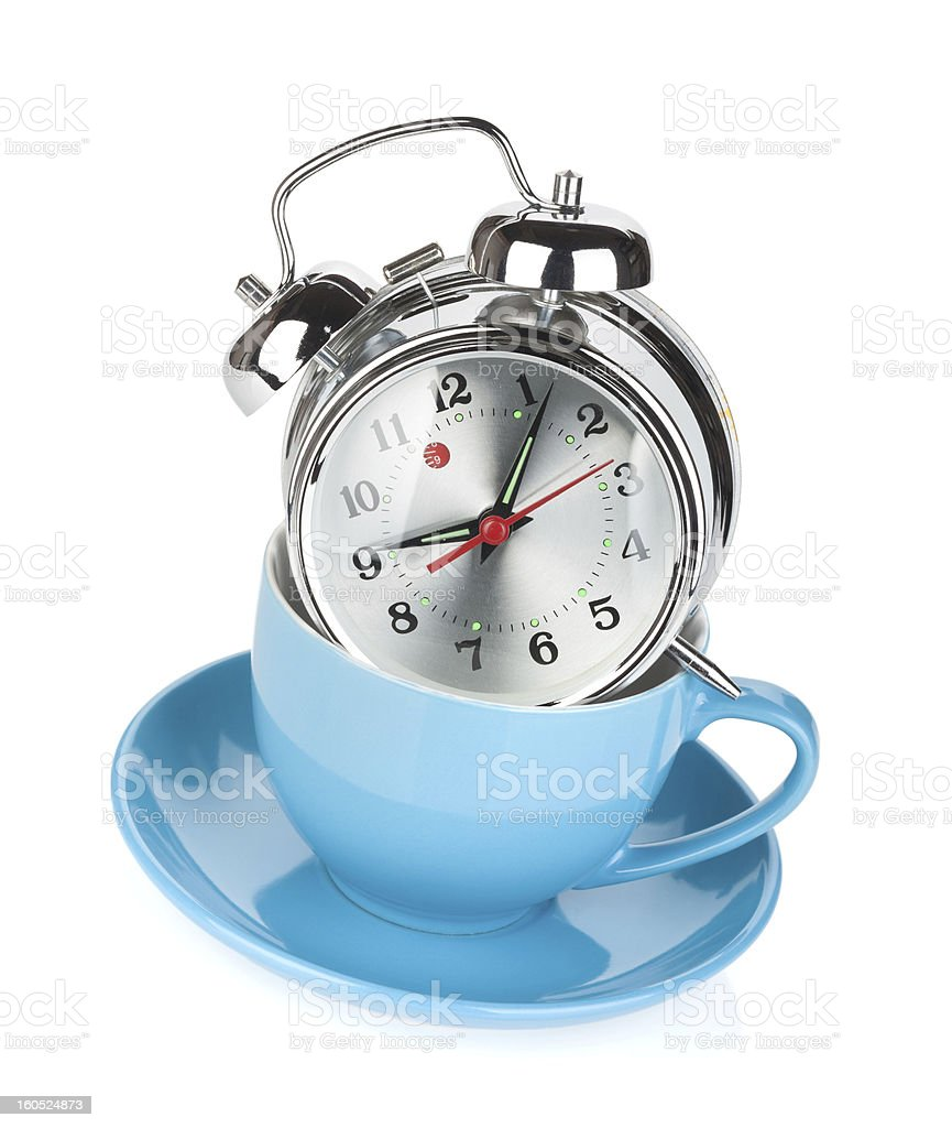 Morning coffee time royalty-free stock photo