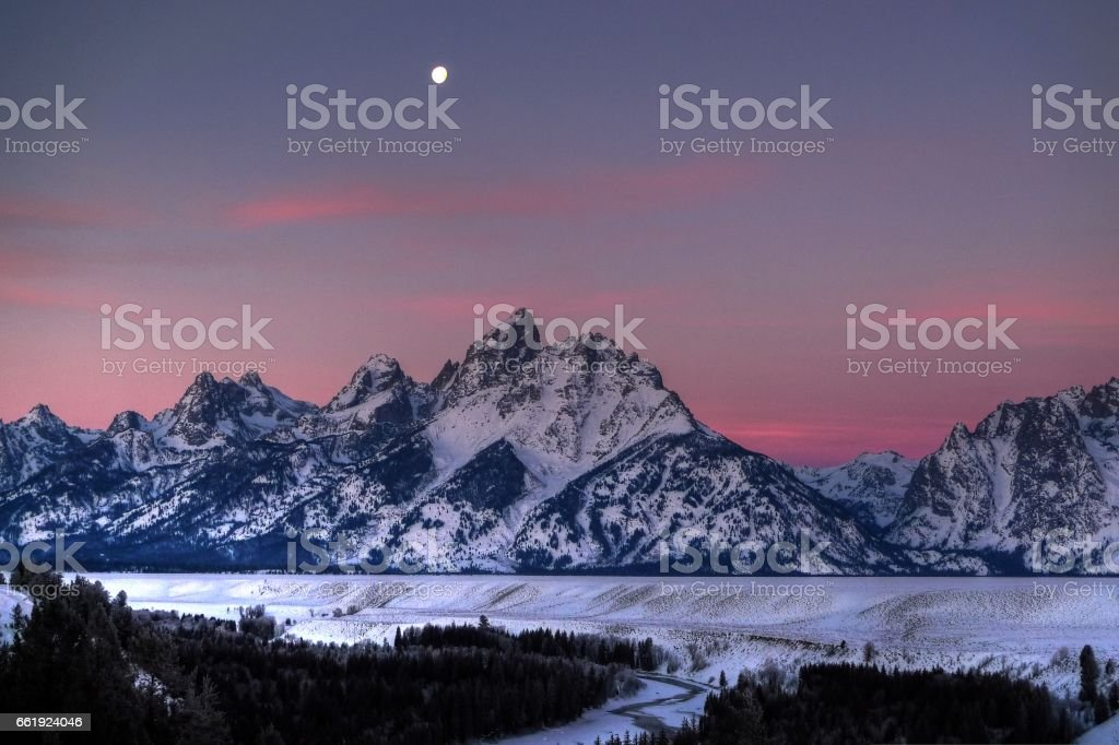 Morning colors stock photo