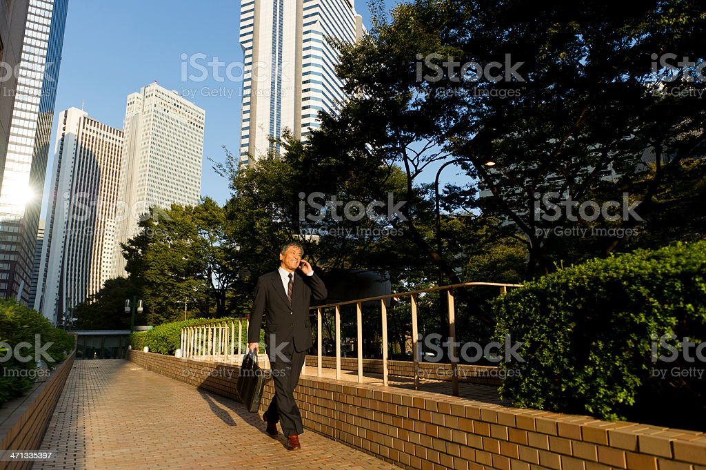 Morning Commute royalty-free stock photo
