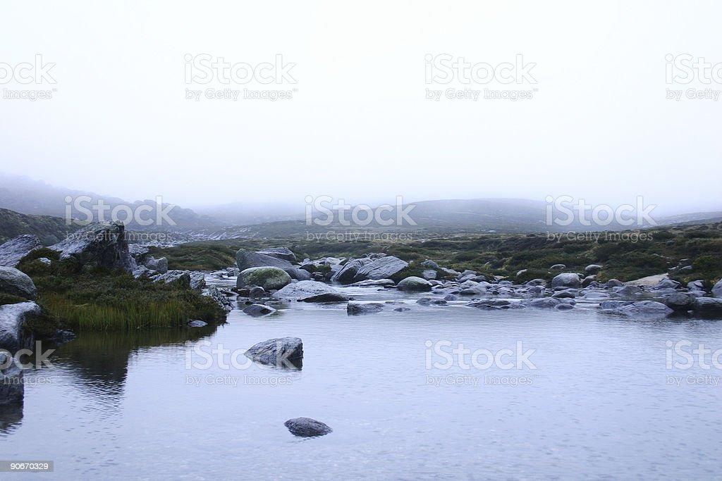 Morning Creek royalty-free stock photo