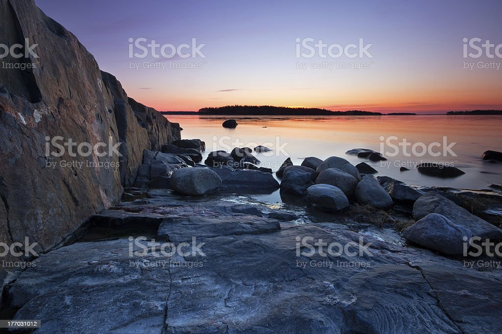Morning dawn royalty-free stock photo