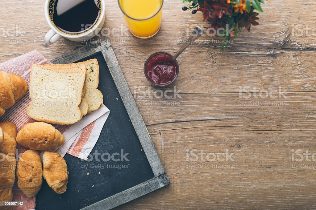 Morning delights stock photo