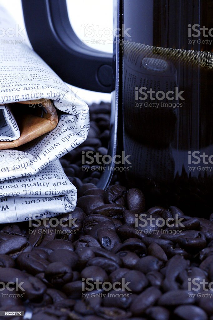 Morning grind royalty-free stock photo