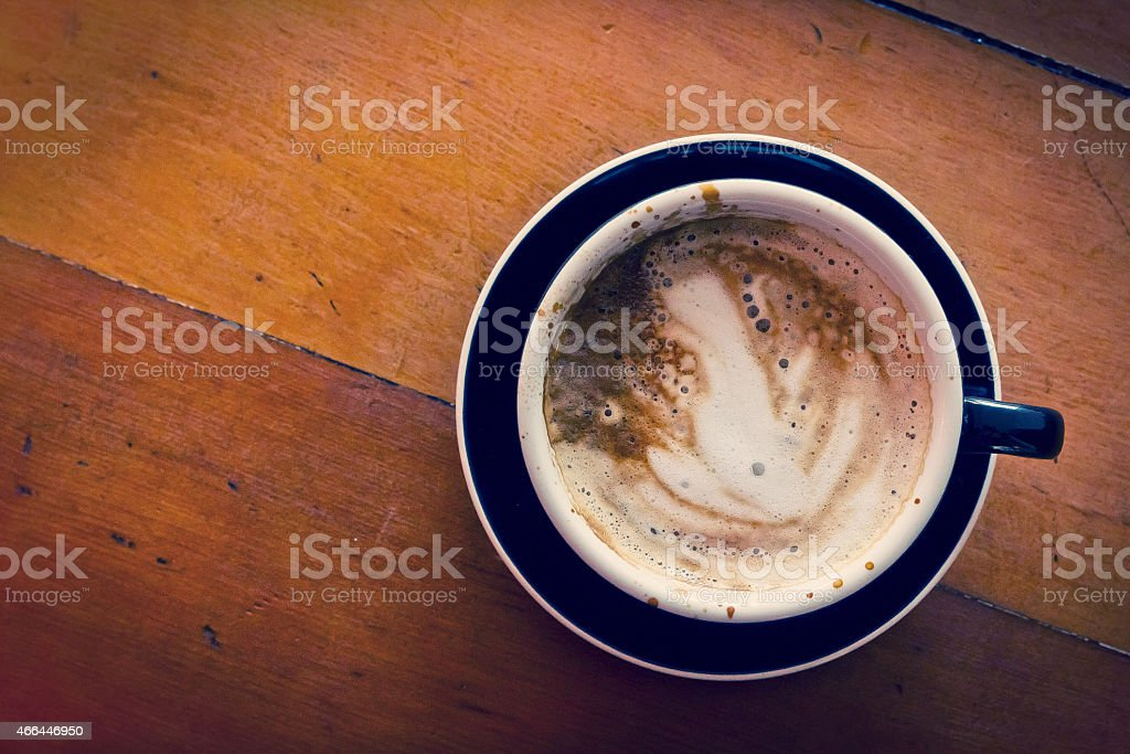 Morning Hot Latte stock photo