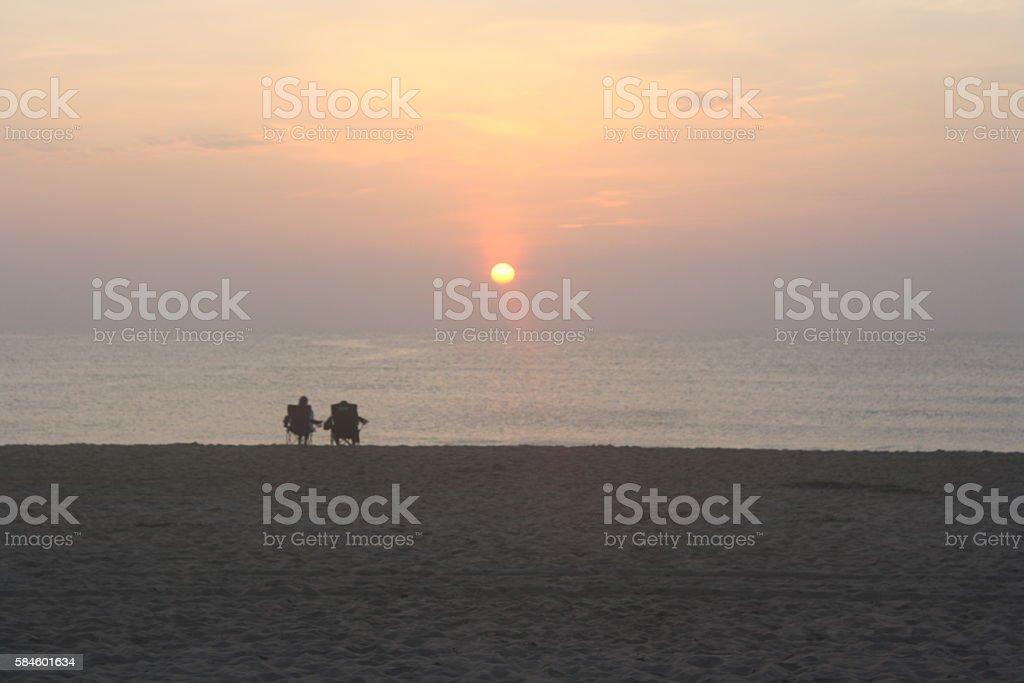 Morning Hues stock photo
